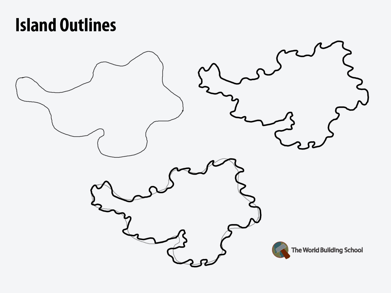 How to draw land how2maps outline island gumiabroncs Choice Image